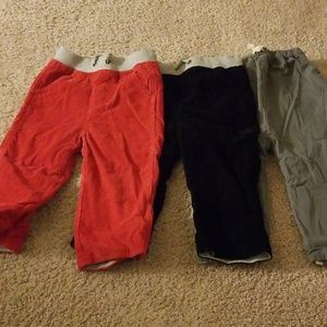 Boys Hanna Andersson winter pants (2T)
